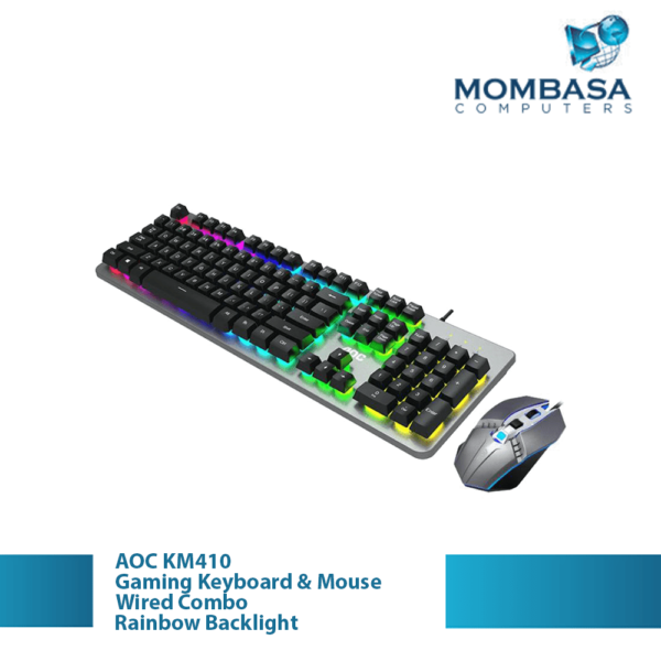 AOC KM410 Wired Gaming Keyboard & Mouse combo