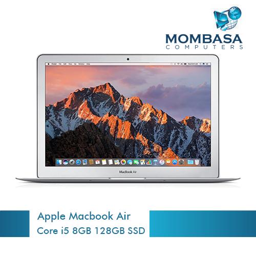 Apple Macbook Air 13-inch dual-core i5 1.8GHz 8GB 128GB SSD Laptop
