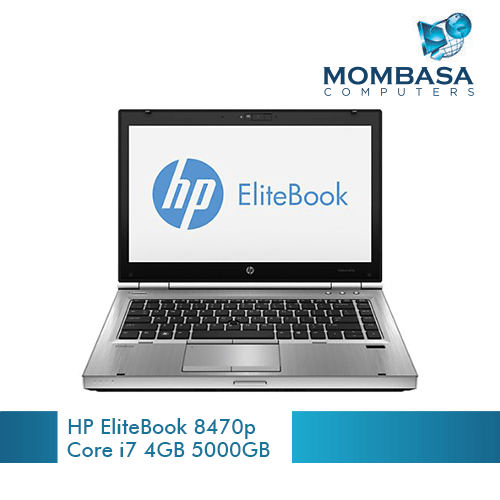 HP EliteBook 8470p Laptop Core i7 2.4GHz, 4GB DDR3, 500GB HDD