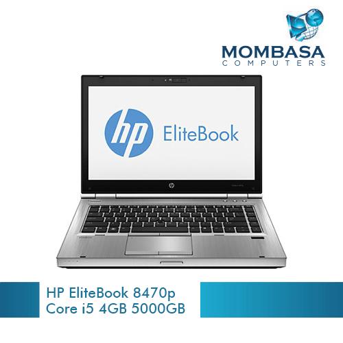 HP EliteBook 8470p Intel Core i5 (2.4GHz) 4GB Memory 500GB HDD