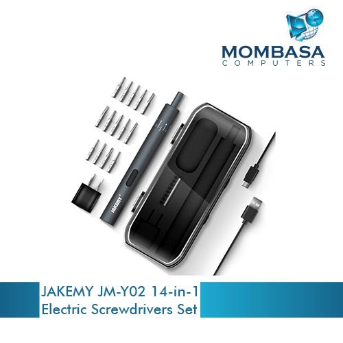 JAKEMY JM-Y02 14-in-1 Electric Screwdrivers Set