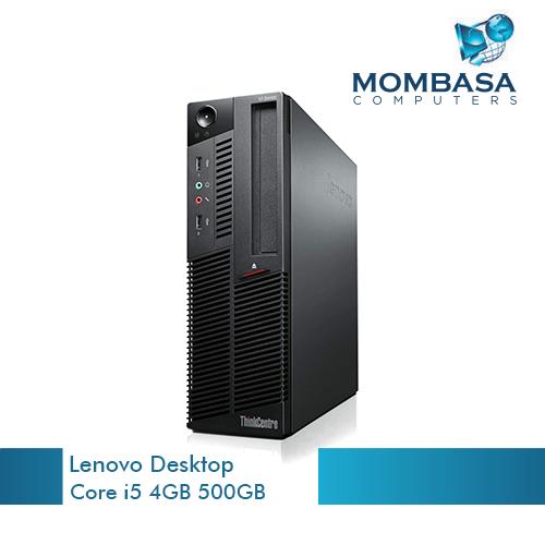 Lenovo Desktop Intel Core i5 4GB RAM 500GB HDD