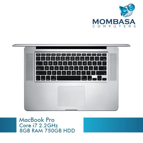 Apple MacBook Pro (A1286), Intel Core i7, 2.2GHz, 8GB 500GB