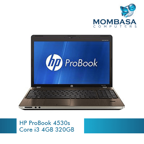 HP ProBook 4530s – 15.6″ – Core i3 2310M – 4 GB RAM – 320 GB HDD