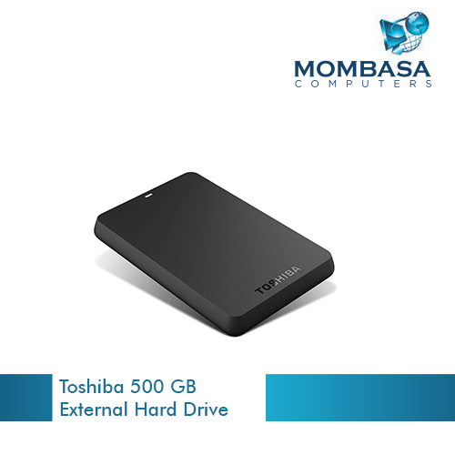 Toshiba 500 GB External Hard Drive