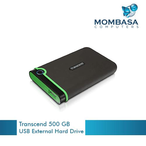 Transcend 500 GB USB External Hard Drive